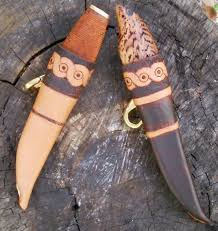 Knife Sheath Patterns Custom Making A Scandinavian Style Knife Sheath Photos PaleoPlanet