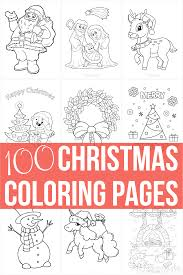Our free coloring pages for adults and kids, range from star wars to mickey mouse. 100 Best Christmas Coloring Pages Free Printable Pdfs