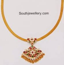 gold necklace simple