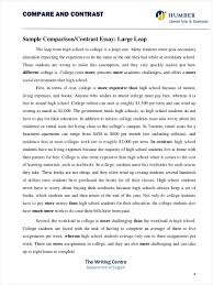 example of a compare contrast essay comparing and contrasting essay example compare contrast prompts