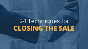Brian Tracys 24 Techniques For Closing The Sale 1 Youtube