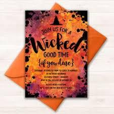 costume party invites silly skeleton kids halloween party invitation orange black yellow