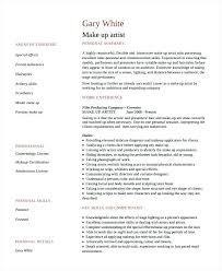 fabulous makeup artist resume objective also freelance makeup artist resume objective template 7 free word