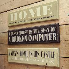 black wooden signs with sayings designs