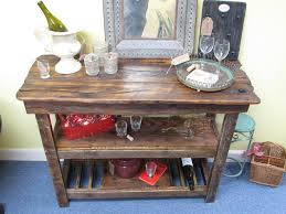 Barnwood Bar barnwood furniture console table with shelves versatile barnwood 5310 by guidejewelry.us
