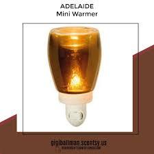 Night Light Wax Warmer Bulbs Adelaide Mini Warmer Scentsy Adelaide Scentsy