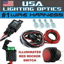 1 fog light 40 amp universal wiring harness on the market comes w yamaha utv