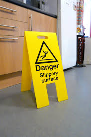 Wet Kitchen Floor Flooring Ideas Wet Floor Signs Law Over Stone Floor Tile In Front