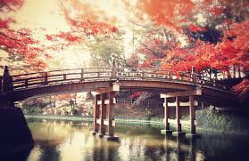 ... From the 'it must have been manipulated' category: Japanese bridge,  from Favim