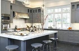 hanging glass cabinet over island glass hanging pendant lights over island for gray color kitchen blue