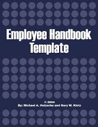 Sample Employee Handbooks Suresh Inforesearch Employee Handbooks