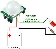 cheap pyroelectric infrared pir detector reuk co uk simple pir module led circuit to turn on led when motion detected
