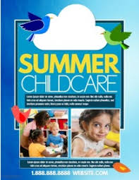 Childcare Flyers Child Care Flyers Ohye Mcpgroup Co