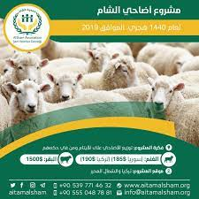 مشروع اضاحي الشام - جمعية الشام لرعاية الأيتام