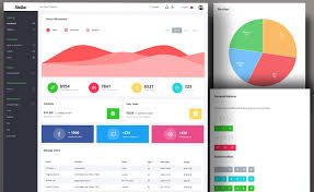 Chart Icon Bootstrap Free Bootstrap 4 Web Application Dashboard Template With