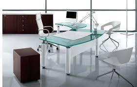 contemporary office desk glass.  Glass Office Contemporary Desk Glass Amazing Regarding With  Regard To Table Decorations  With Contemporary Office Desk Glass U
