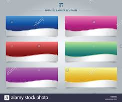 Stripe Templates Set Of Templates Business Banner Web Design Abstract Stripe Wave