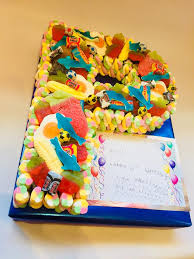 Single Letter Sweet Cake Cakes Made Of Sweets Call Free 0800 756