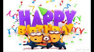 Chúc mừng sinh nhật-Happy birthday song-Minions cartoon| Nhạc thiếu nhi vui  nhộn nhất-