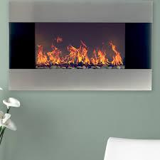 wall insert fireplace guuoous
