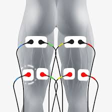 Tens And Ems Device Placement Charts Hamstring Electrode Pad Placement Ems Tens Electrode