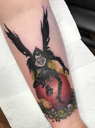 Ryuk Tattoo Done By Blake Cranford At Black Cobra Tattoo In