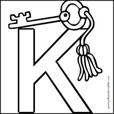 K Coloring Page Letter K Png Letter K Coloring Sheet Printable K