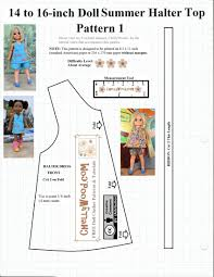 Free Printable Doll Clothes Patterns For 18 Inch Dolls Amazing Decorating Design