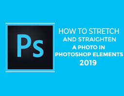 You can keep going until. How To Stretch And Straighten A Photo In Adobe Photoshop Elements 2019