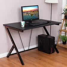 home office computer workstation.  Home Costway Gaming Desk Computer PC Laptop Table Workstation Home Office  Ergonomic New 0 For R