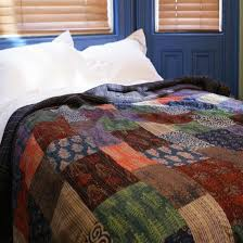 14 best Throws and Quilts images on Pinterest | Bedspreads ... & Pinks and Purples Patchwork Cotton Bedspread Adamdwight.com