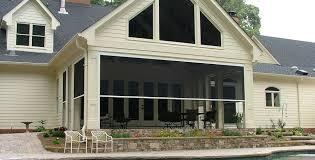 retractable screen patio. Roll Up Screen Porch Retractable Screens Motorized Shades Adams Aluminum Patio L