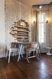 interior ideas with decorative brick