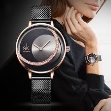 <b>SK Fashion</b> Luxury Brand Women Quartz Watch Creative <b>Thin</b> ...