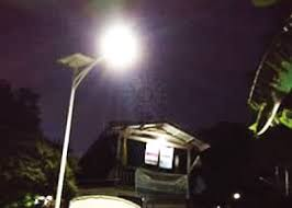 Street Lights In Villages Solar Street Light Project Airport Expressway Lybia