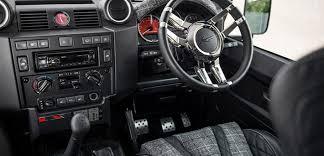 land rover defender interior. kahn land rover defender 110 station wagon the end edition interior r