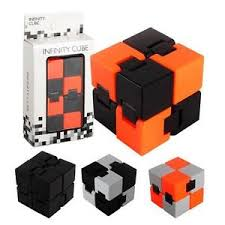 infinity cube. image is loading new-fashion-fidget-cube-metal-infinity-cube-for- infinity cube