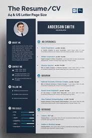 Resume Cv Template Free Psd Download Download Psd Resume Template