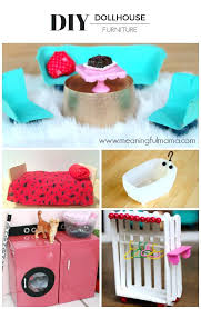 homemade barbie furniture ideas. Diy Barbie Furniture Homemade Ideas