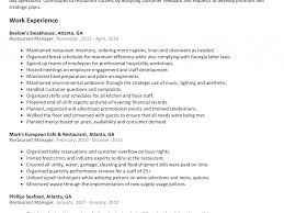 Restaurant Floor Manager Job Description Sample And Resume
