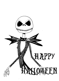 Jack Skellington Coloring Pages Halloween Coloring Sheets Get