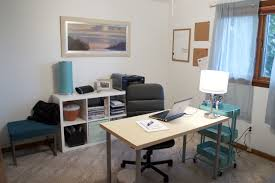 home office guest room modern desc exercise ball chair chrome wall unit bookcases multicolor leather filing cabinets supply storage gooseneck desk lamps bedroom desk unit home