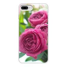 """Чехол для iPhone 7 Plus, объёмная печать """"<b>Розовые розы</b> ..."""