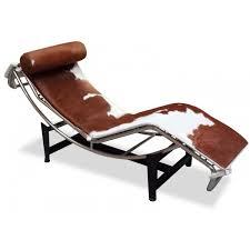 lc4 chaise lounge chair le corbusier replica cowhide le corbusier lounge chair replica
