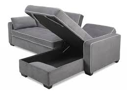 furniture chaise sofa bed inspirational augustine convertible sofa bed chaise moon grey by serta