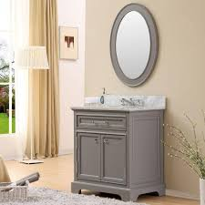 30 Bathroom Cabinet Water Creation 30 In W X 215 In D Vanity In Cashmere Grey With