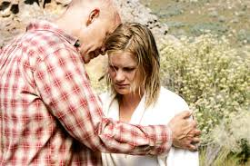 disgrace picture  john malkovich stars as david lurie and jessica haines stars as lucy in a paladin release s disgrace 2009