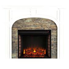 southern enterprises tennyson electric fireplace insert jordan espresso
