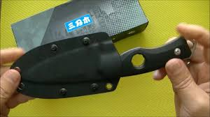 <b>Нож Sanrenmu</b> S 725 fixed blade - YouTube