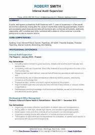 Objective Summary For Resumes Supervisor Resume Samples Examples And Tips